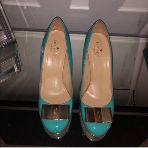 Kate Spade Blue heels